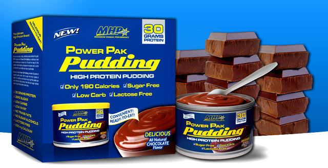 Пудинг MHP Power Pak Pudding