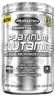 Глютамин Platinum 100% Glutamine Essential Series от MuscleTech