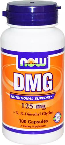 Антиоксиданты NOW DMG 125mg