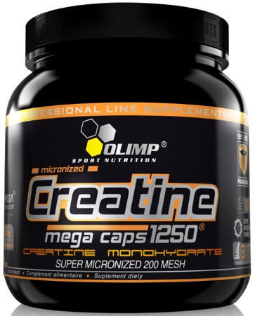 Креатин Olimp Creatine Mega Caps 400 капсул