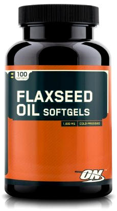 Flaxseed Oil 100 капсул от Optimum Nutrition
