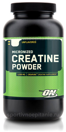 Micronized Creatine Powder от Optimum Nutrition 300 г.