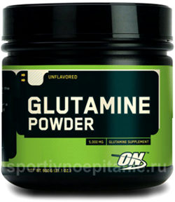 Optimum Nutrition Glutamine Powder 600 г