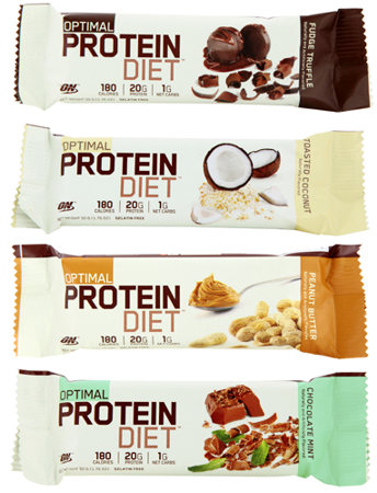 Батончик Optimal Protein Bar