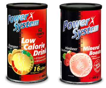 Power System Mineral Booster/Low Calorie Drink