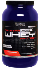 Ultimate Nutrition 100% Prostar Whey 907 г.