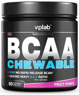 ВСАА BCAA chewable от Vplab