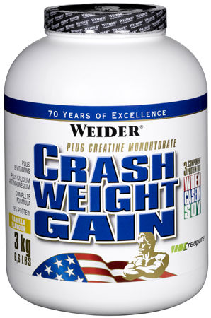 Гейнер Crash Weight Gain от Weider