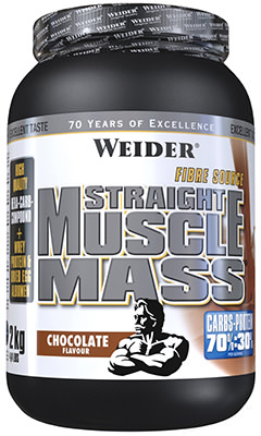 Гейнер Weider Straight Muscle Mass