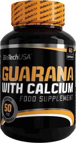 Гуарана BioTech USA Guarana with Calcium