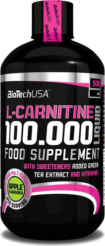 Карнитин BioTech USA L-Carnitine 100000 Liquid
