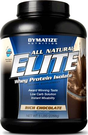 Протеин Dymatize Nutrition All Natural Elite Whey Protein Isolate