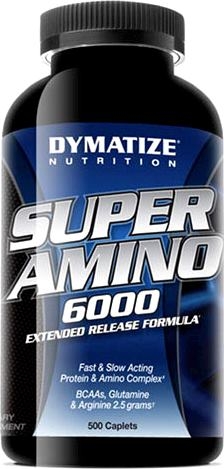 Аминокислоты Dymatize Nutrition Super Amino 6000