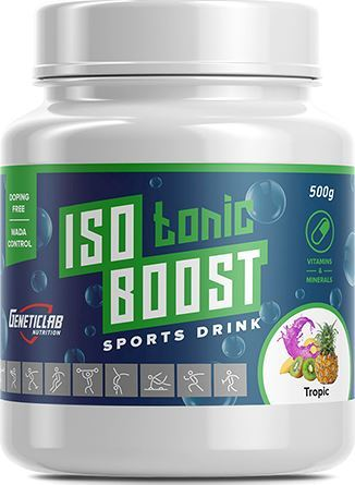 Изотоник GeneticLab Isotonic Boost 500 г