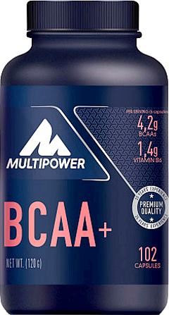 BCAA аминокислоты Multipower BCAA+