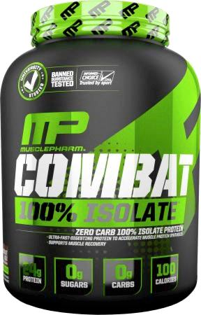 Протеин MusclePharm Combat 100% Isolate