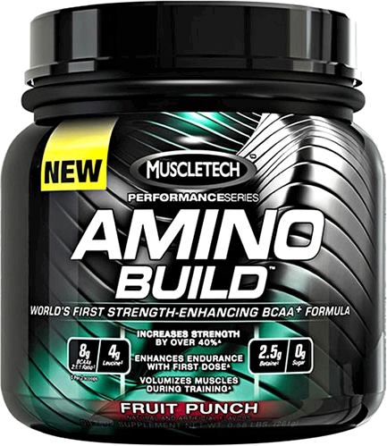 Аминокислоты Amino Build Performance Series от MuscleTech