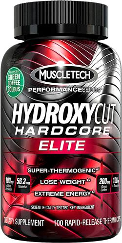 Жиросжигатель MuscleTech Hydroxycut Hardcore Elite Performance Series