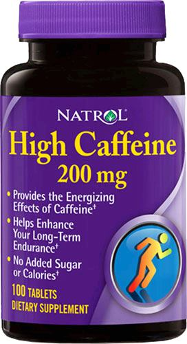 Кофеин Natrol High Caffeine