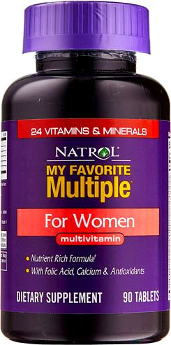 Витамины для женщин Natrol My Favorite Multiple for Women