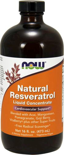 Ягоды асаи NOW Acai Liquid Concentrate