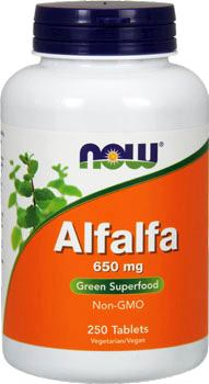 Люцерна NOW Alfalfa 650mg