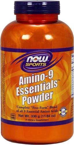 Аминокислоты NOW Amino-9 Essentials Powder