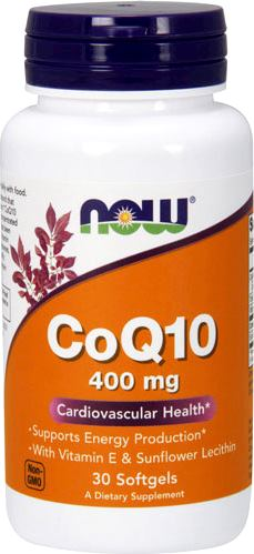 Коэнзим Q10 NOW CoQ10 400mg