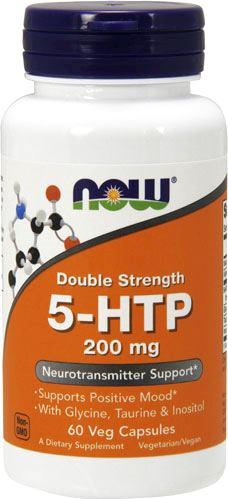 5-HTP NOW Double Strength 5-HTP 200mg