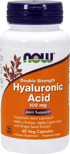 Гиалуроновая кислота NOW Hyaluronic Acid