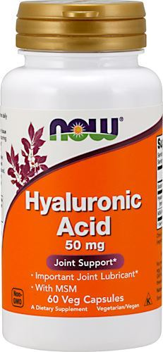 NOW Hyaluronic Acid 50mg with MSM