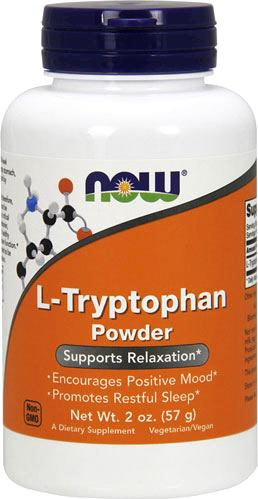 Аминокислота триптофан NOW L-Tryptophan Powder