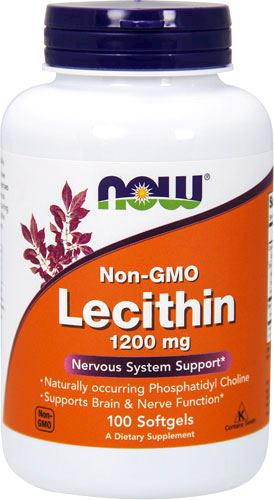 Лецитин NOW Lecithin 1200mg