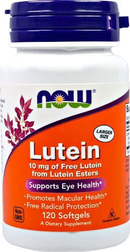 NOW Lutein 10mg