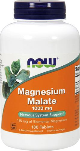 Магний малат NOW Magnesium Malate 1000mg