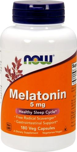 Мелатонин NOW Melatonin 5mg