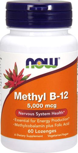 Витамин Б12 NOW Methyl B-12 5000mcg