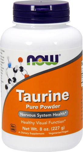 Таурин в порошке NOW Taurine Pure Powder