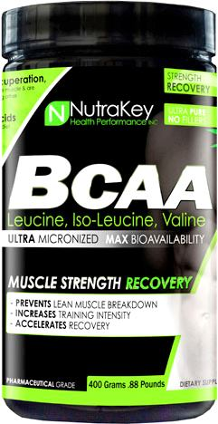 BCAA аминокислоты NutraKey BCAA Powder