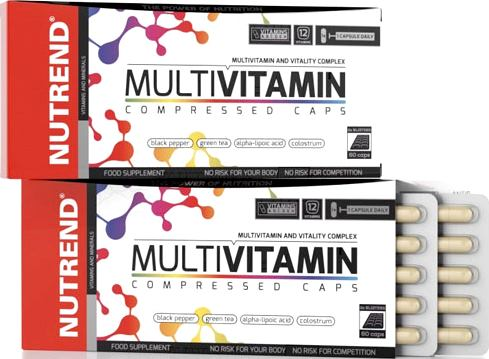Витамины Nutrend Multivitamin Compressed