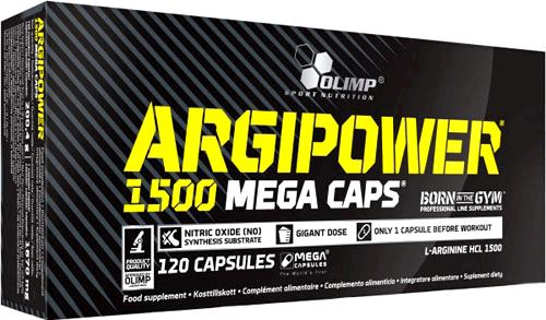 Аргинин Olimp Argipower 1500 Mega Caps