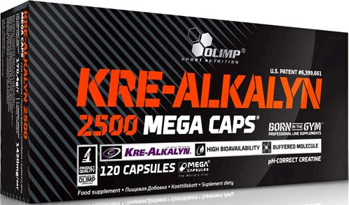 Креатин Olimp Kre-Alkalyn 2500 Mega Caps