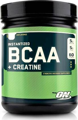 Optimum Nutrition BCAA + Creatine Powder