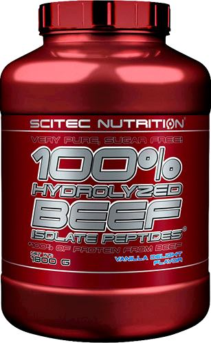 Протеин Scitec Nutrition 100% Hydrolysed Beef Isolate Peptides