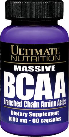 Аминокислоты Ultimate Nutrition Massive BCAA 1000mg