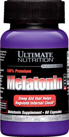 Мелатонин Ultimate Nutrition Melatonin 100% Premium