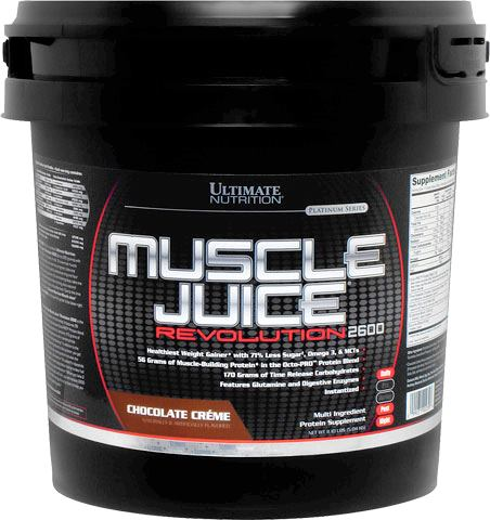 Гейнер Muscle Juice Revolution 2600 от Ultimate Nutrition