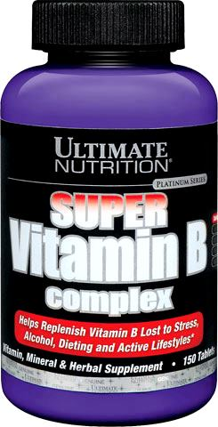 Витамины Б Ultimate Nutrition Super Vitamin B Complex