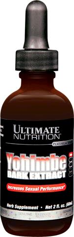 Йохимбин Ultimate Nutrition Yohimbe Bark Liquid Extract
