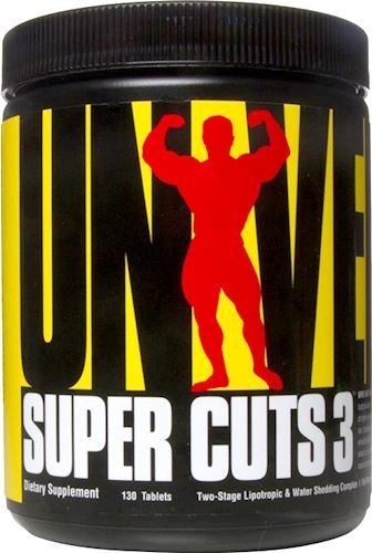 Жиросжигатель Universal Nutrition Super Cuts 3